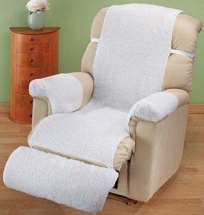 Sherpa Recliner Cover by Miles Kimball