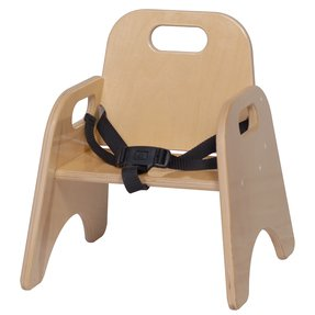 Steffy Wood Products 7-Inch Toddler Chair with Strap