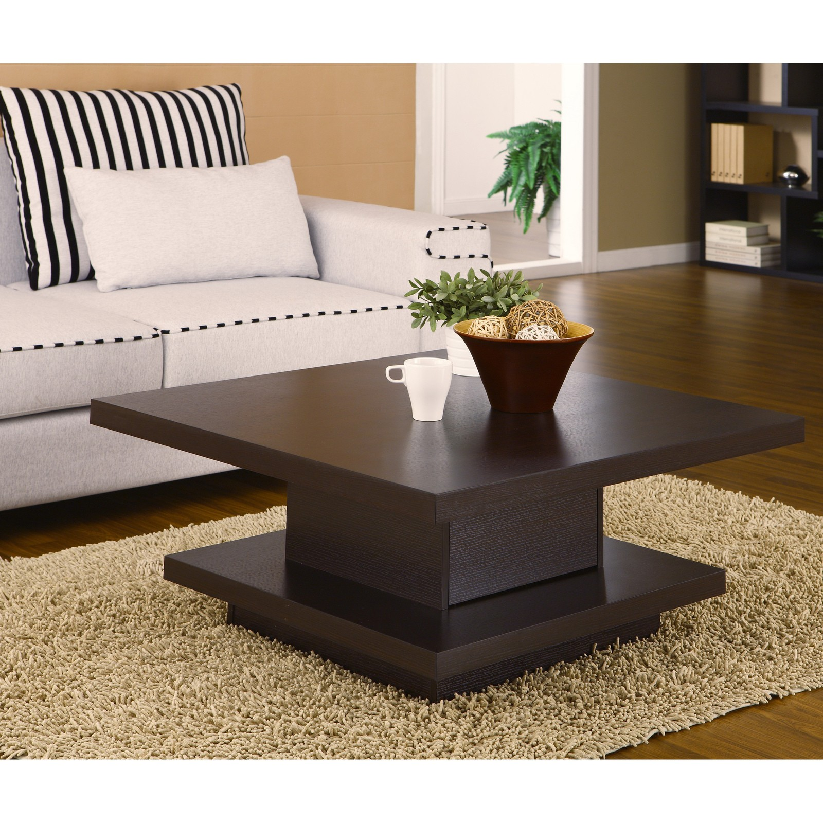 Nice Wakiaka Pagoda Coffee Table. These Modern Coffee Tables Are Great For Tying  Together Living Room Pictures