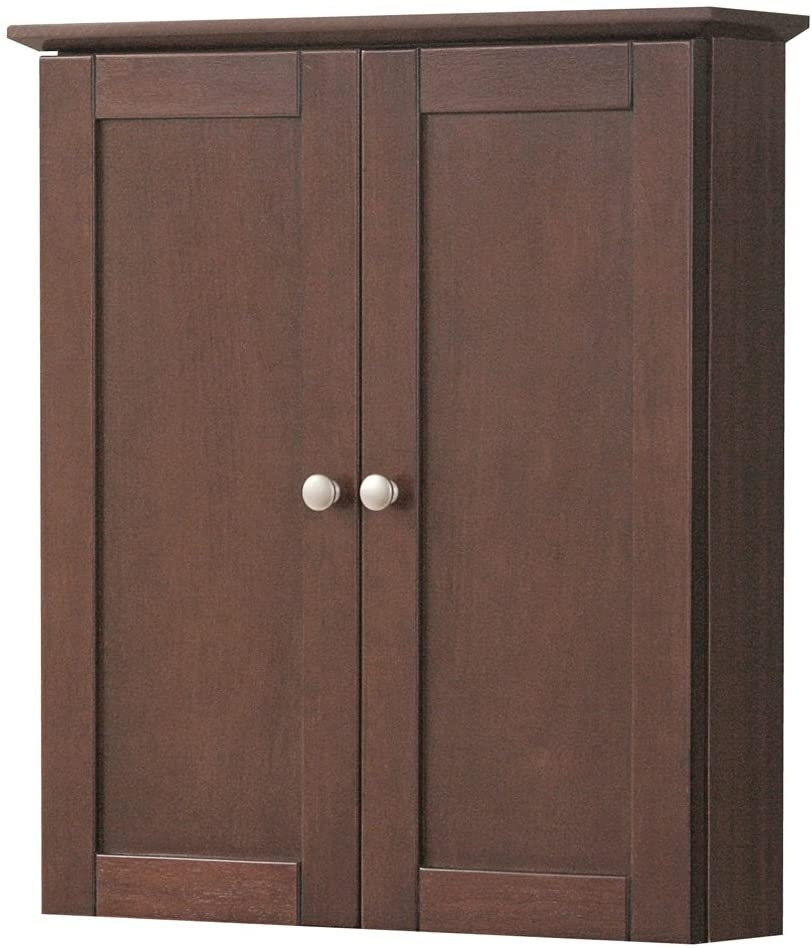 Attrayant Foremost COCW2125 Cherry Columbia Columbia Bathroom Wall Cabinet