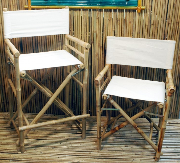 High Bamboo Directoru0027s Chair [Set Of ...