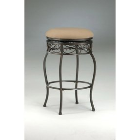 New Round Swivel Backless Bar Stools