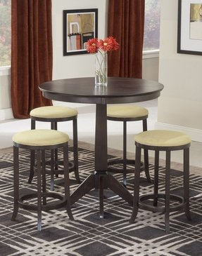 Hillsdale Tiburon Pub Table w/4 Backless Stools