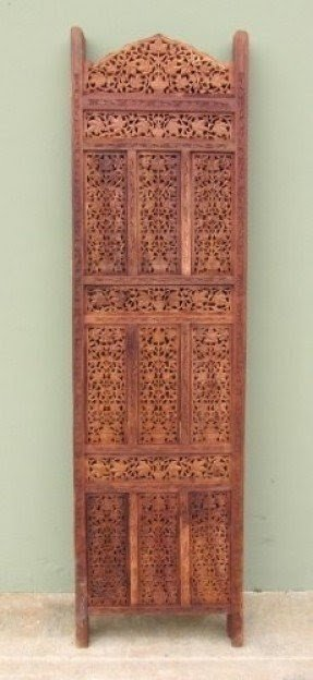 Real Simple...a Handcarved Handmade Room Divider