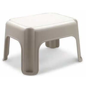 Rubbermaid 4200-87 BISQ Rubbermaid Bisque Step Stool - Quantity 6