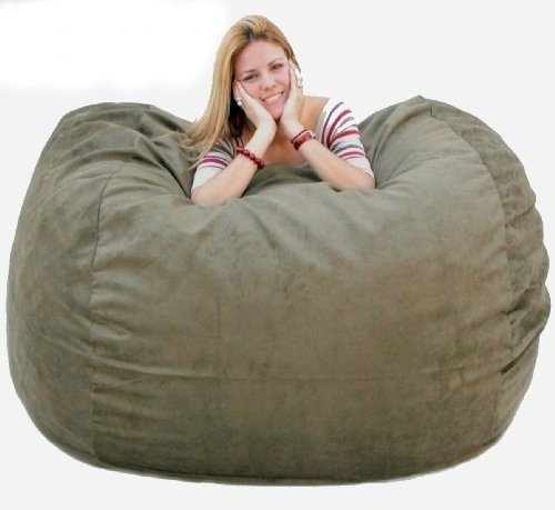 Cozy Sack 4 Feet Bean Bag Chair, Large, Denim
