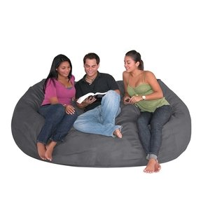 Cozy Sack 7-Feet Bean Bag Chair, X-Large, Royal Blue Size Extra Large 7'
