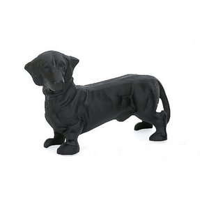 Doorstops - Dachshund Door Stop - Cast Iron Dog Doorstop