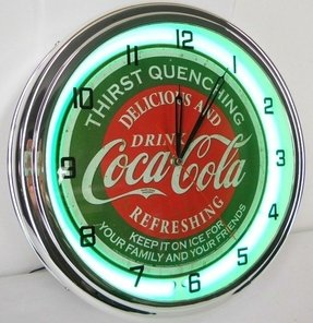 Neon Wall Clocks Foter