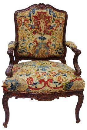 French louis xv arm chair 1