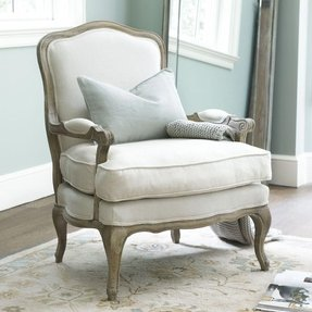 French style arm chair 1