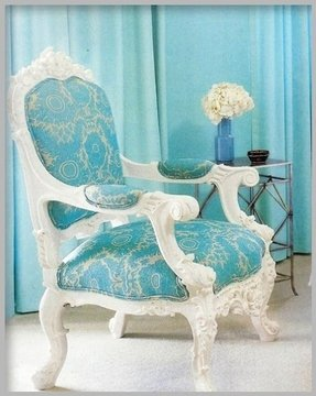 French style arm chair 3