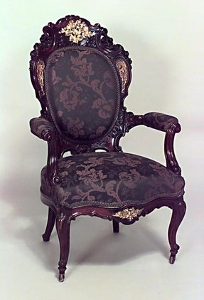 French style arm chair 6