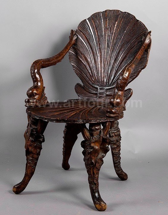 Charmant Hand Carved Chairs