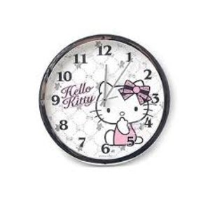 Hello Kitty Chrome Luxury Edition of Silent Wall Clock