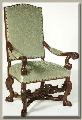 Louis arm chair 1