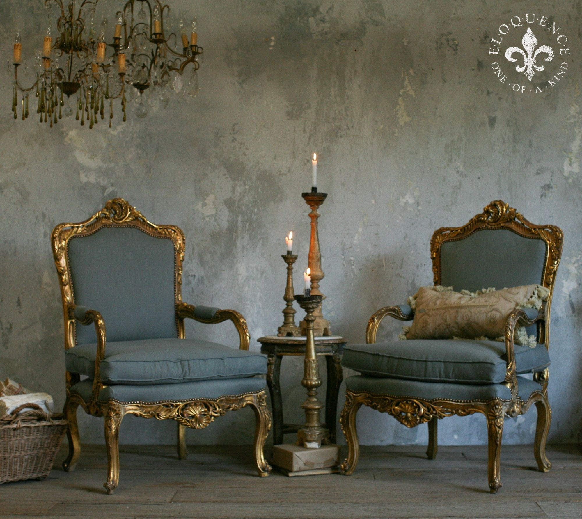 Add A Glamour And Luxury Touch To Your Dinette Or Drawing Room With The  Pair Of Antique Vintage French Louis XV Armchairs. They Are Finished By The  Gold ...