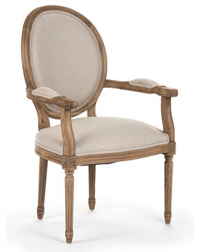 Louis xvi style arm chair