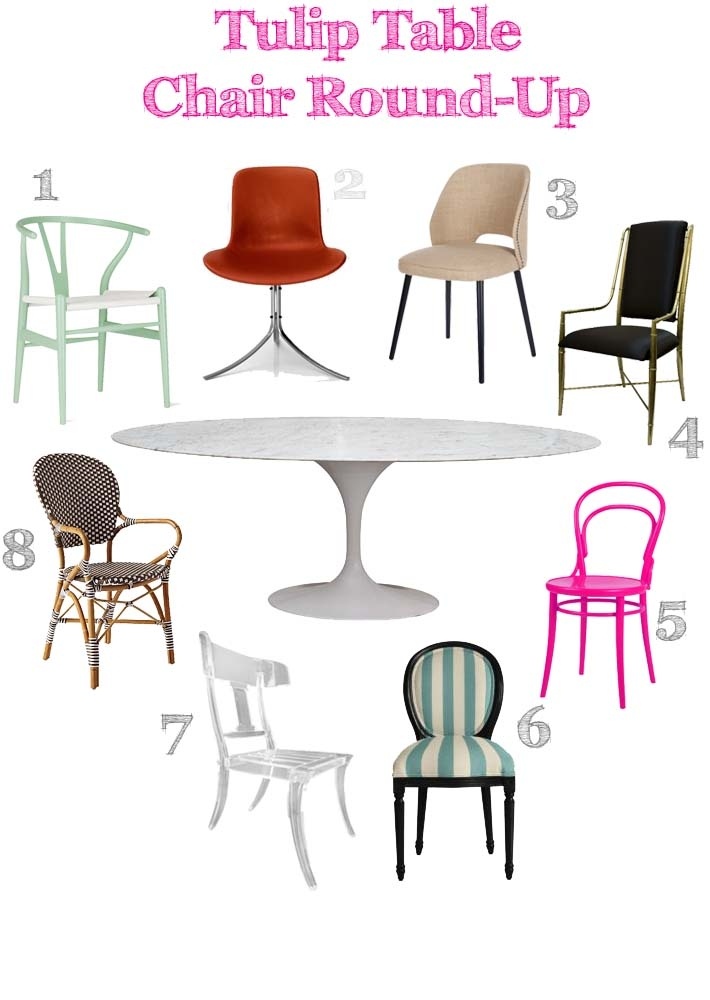 Amazing Oval Dining Table And Chairs Design