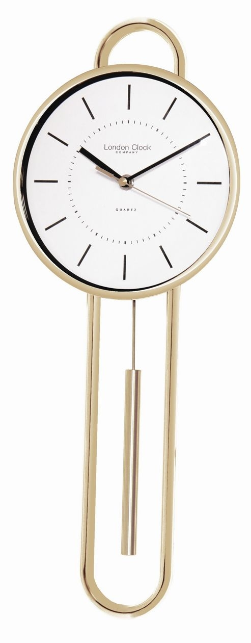 Silver Wall Clocks Foter