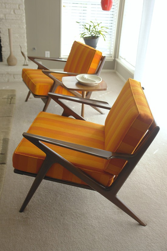 Vintage arm chairs