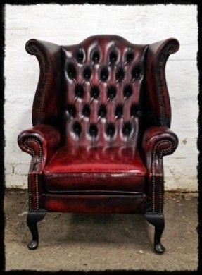 Merveilleux Vintage Leather Arm Chair