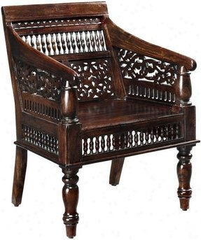 Wood carved arm chairs 5