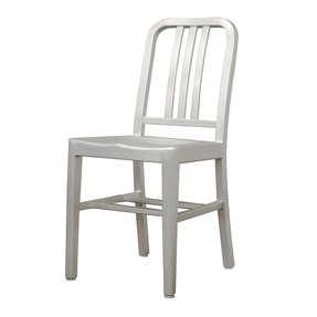 Aluminum side chairs