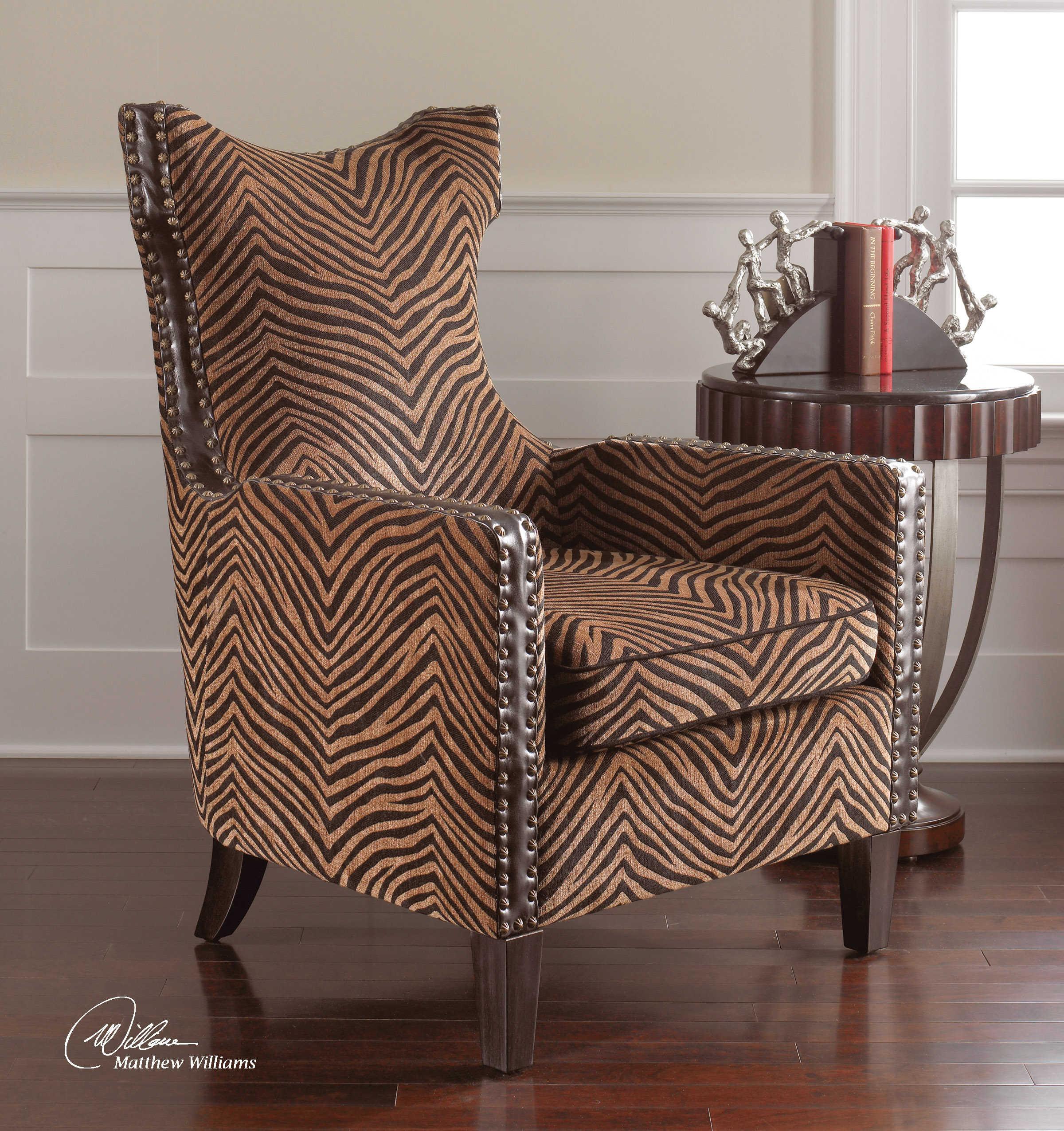 Animal Print Tub Chair