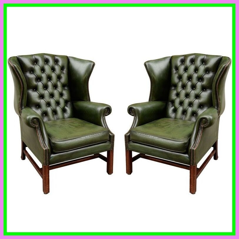 Gentil Antique Leather Chairs 16