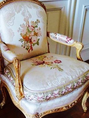 Upholstered Victorian Arm Chair Foter