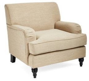 Arm chair oatmeal 19