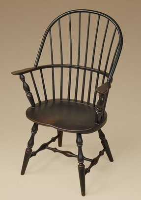 Back windsor dining arm chair 4