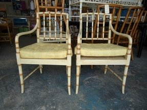 Bamboo arm chair 6
