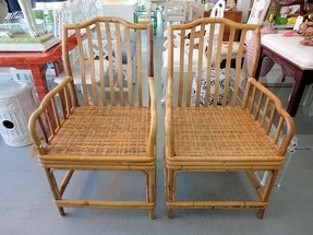 Bamboo arm chair 7