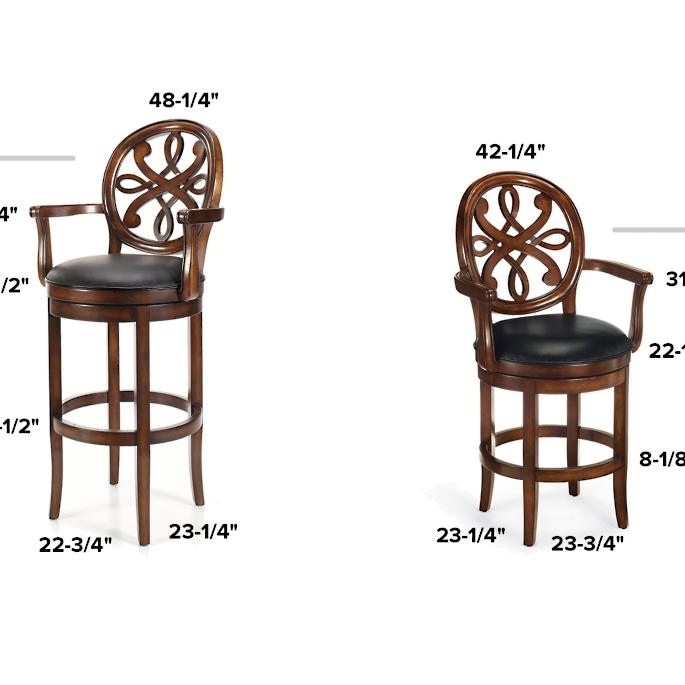 Bar Height Chairs With Arms