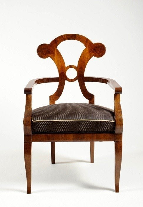 Exceptionnel Biedermeier Chair   Foter