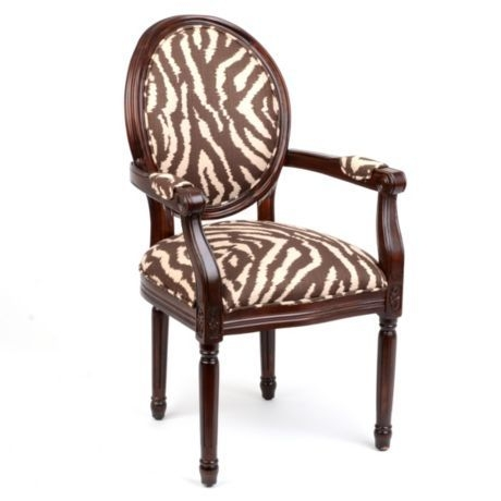 Bon Brown Zebra Chair