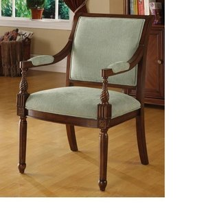 Chester aqua arm chair