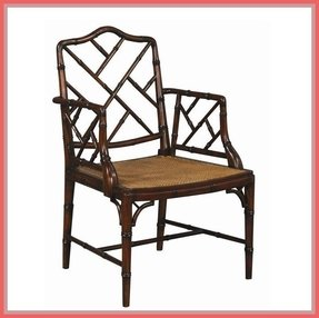 Chinese chippendale chair 1