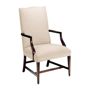 Classic upholstered back arm chairs 18