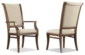 Classic upholstered back arm chairs 21
