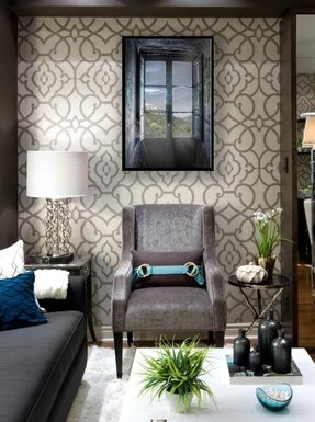 Contemporary accent chairs 1