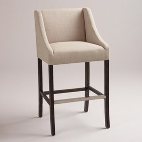Counter height chair covers