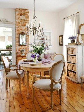 Country french kitchen chairs
