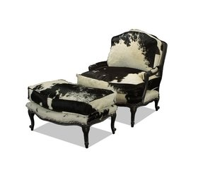 Pleasing Cowhide Chair Ideas On Foter Alphanode Cool Chair Designs And Ideas Alphanodeonline