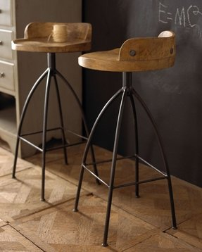 Crazy bar stools