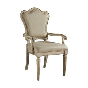 Cream classics furniture decor provenance back arm chair in ivory