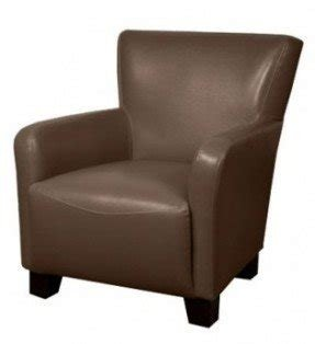 Dark brown leather arm chair 26