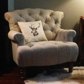 Arm Chair Rush Seat Foter